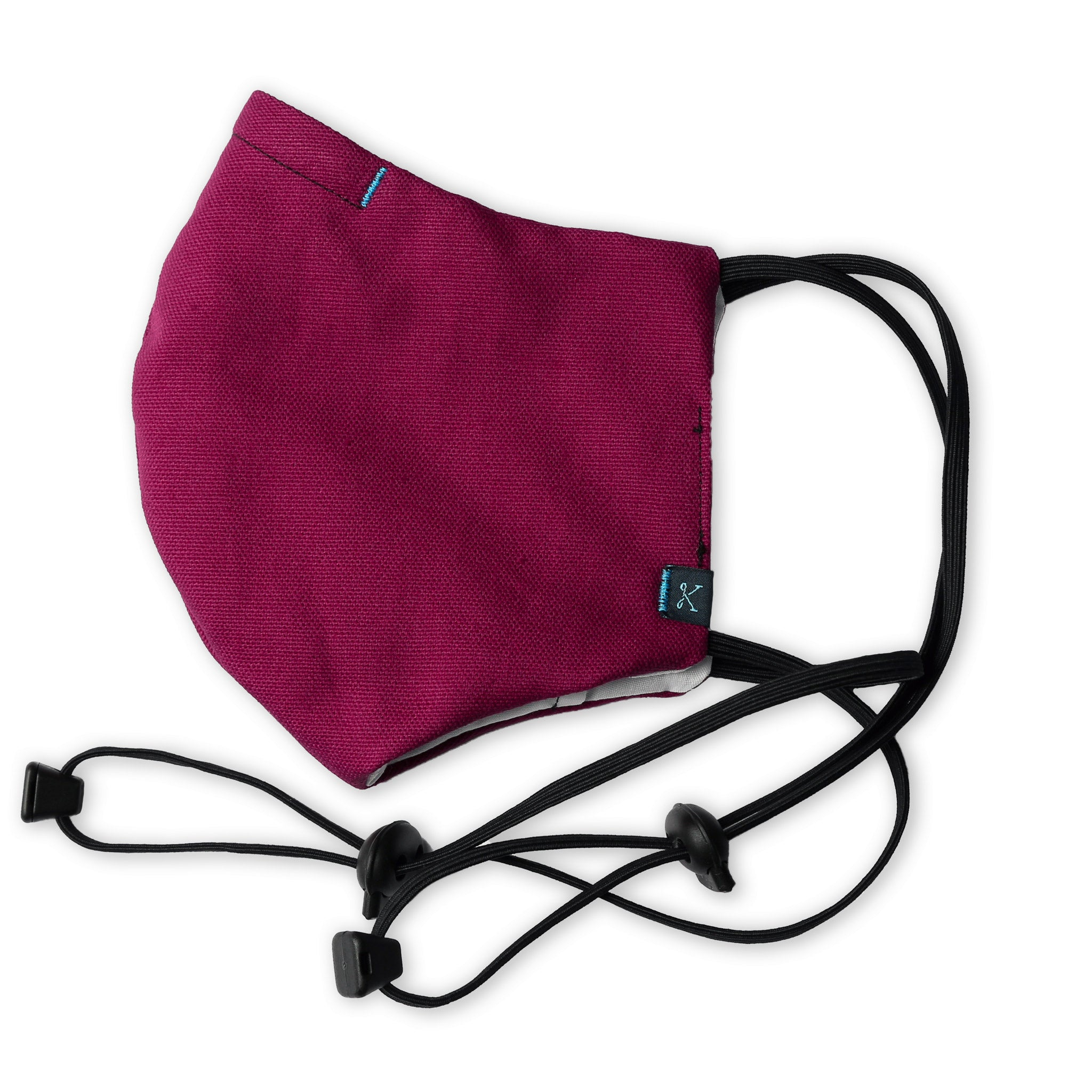 Kitsbow Adjustable & Reusable Face Mask Fuchsia