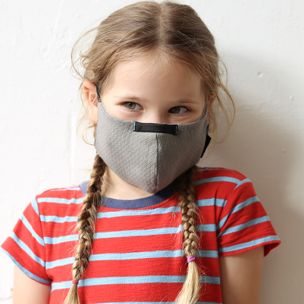 Wake ProTech™ Reusable Face Mask for Kids (with Filter) Stratus