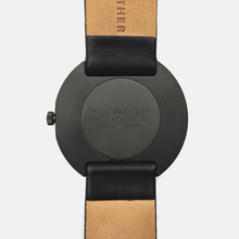 Black PVD / Black Calf Leather Strap