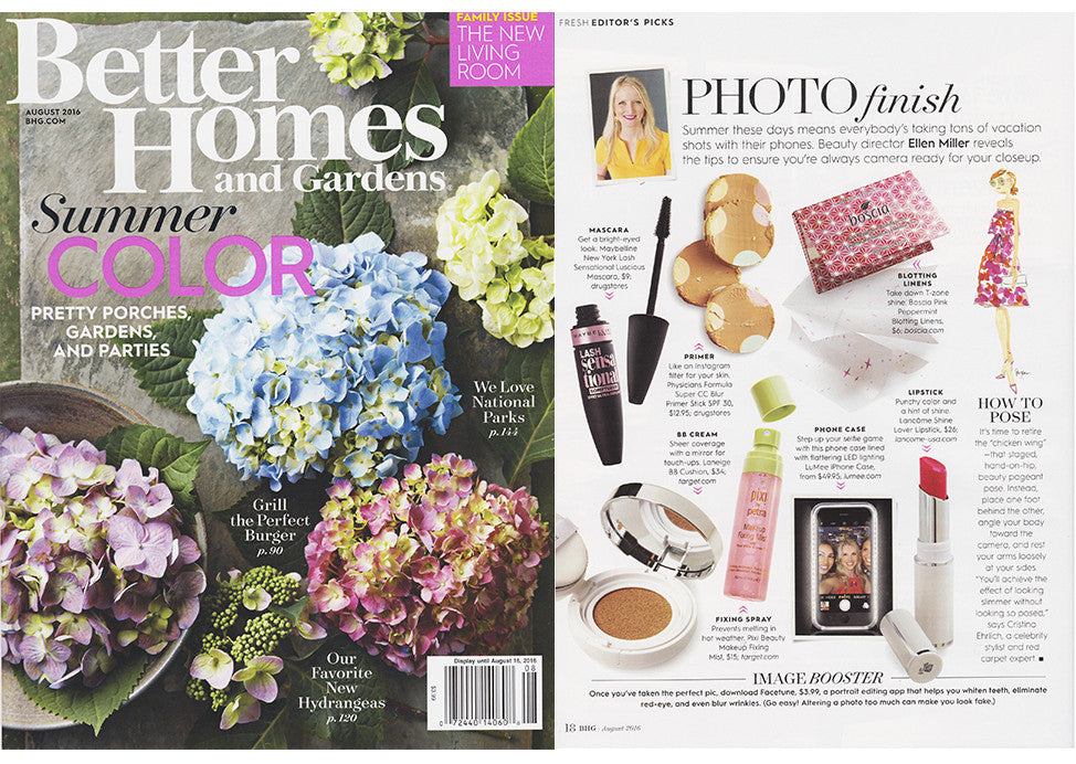 Better Homes and Gardens Magazine August 2016