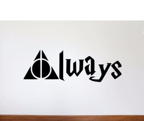 Harry Potter Always Deathly Hallows Sticker