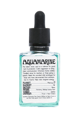 Aquamarine Essence Ritual Oil - CRYSTAL WAND