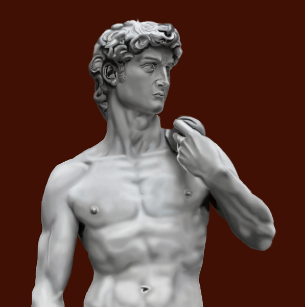 David - Uffizi Art