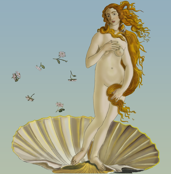 Birth Of Venus II - Uffizi Art