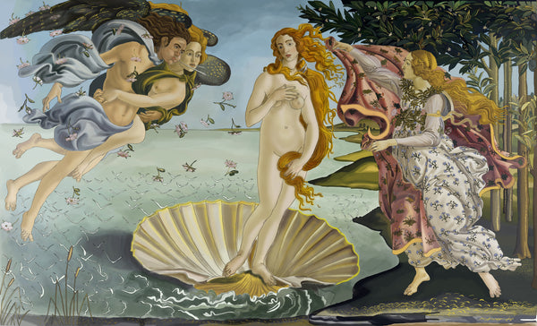 Birth of Venus - Uffizi Art
