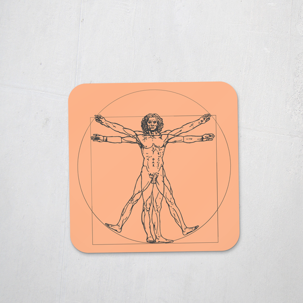 The Vitruvian Man Coaster