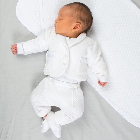 baby boy blessing suit