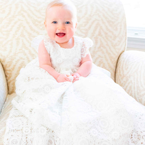 baby baptism gown