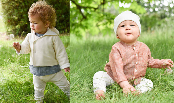 baby boy linen outfits