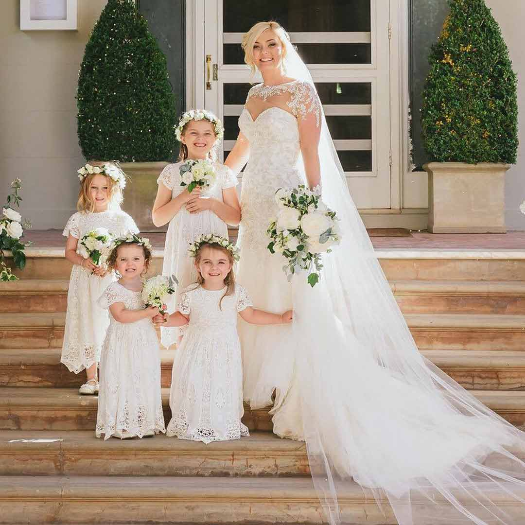Girls Wedding Outfits image