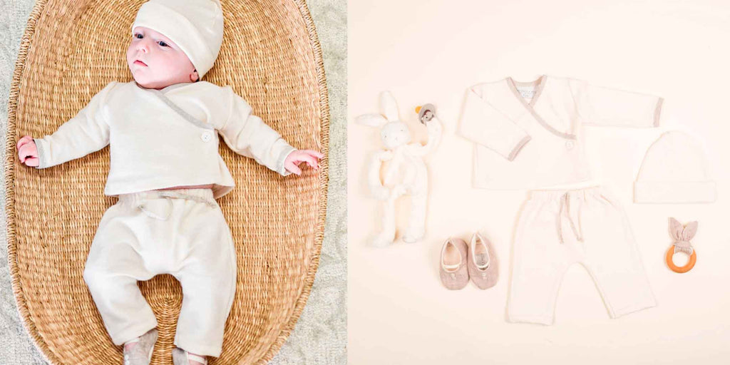 baby boy wrap top and pants for newborn