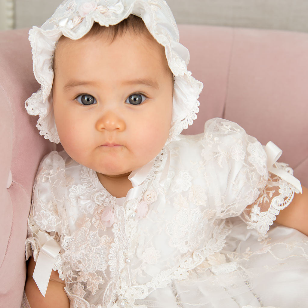Scarlett Lace Christening Gown Bodice