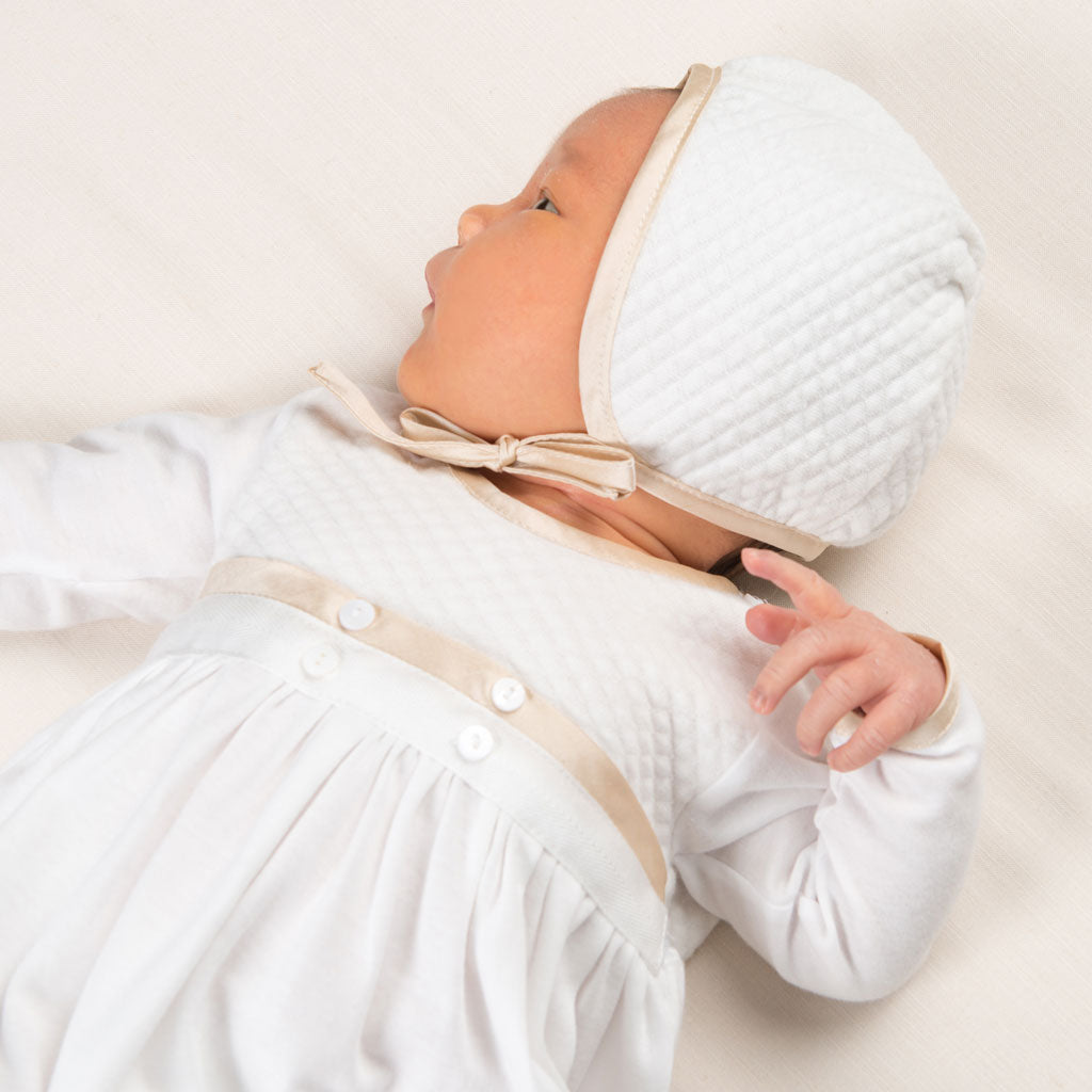 Liam Cotton Newborn Gown