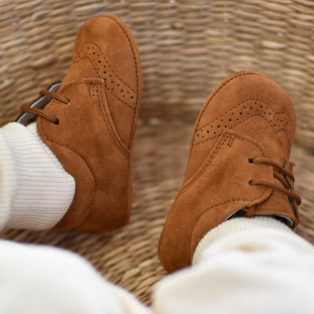Brick Suede Shoes