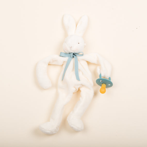 White Silly Bunny Buddy | Island Sea Pacifier