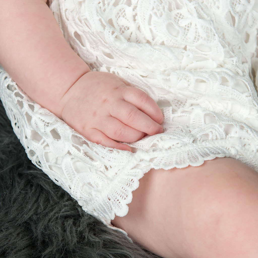 Lola Lace Bubble Romper (Newborn Only)