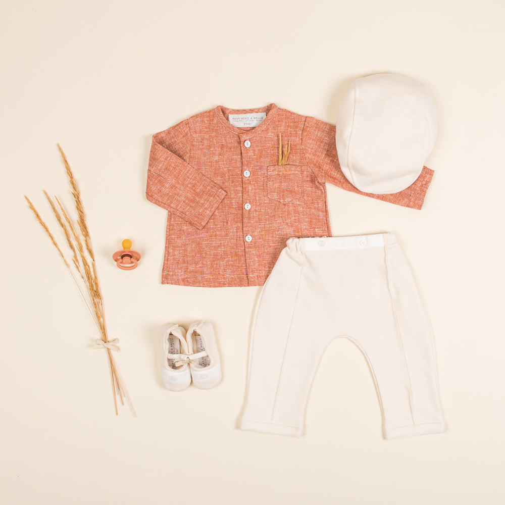 Clay Linen Outfit
