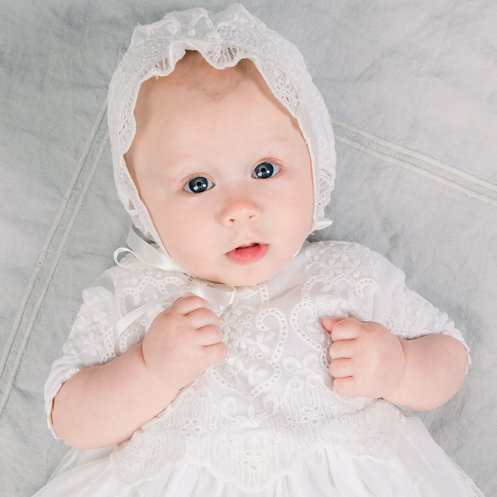 Eliza Blessing Gown & Bonnet