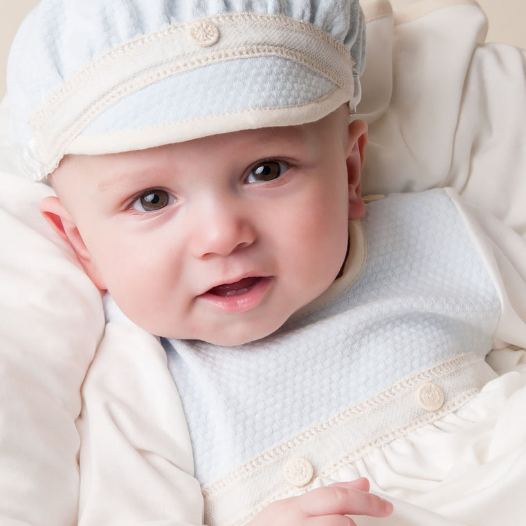 Jack Boys Layette Gown Detail