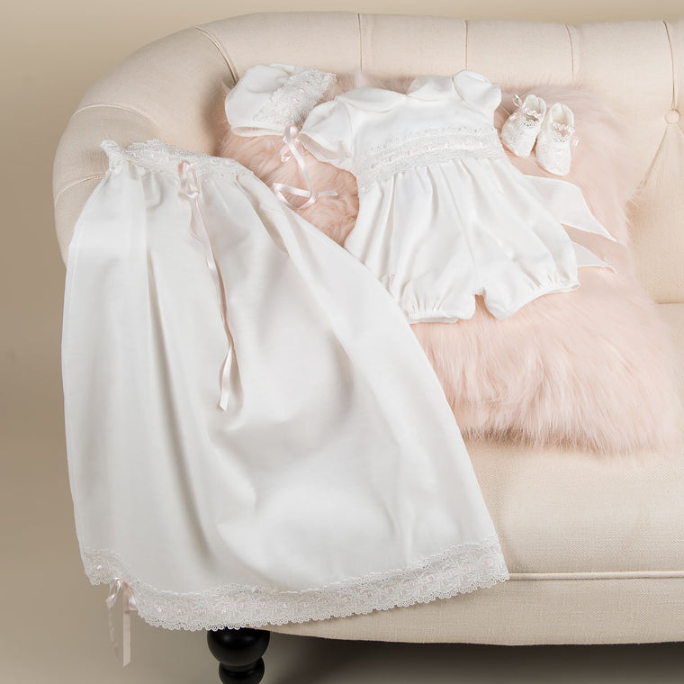 Emma Girls Christening Set - SAVE 10%