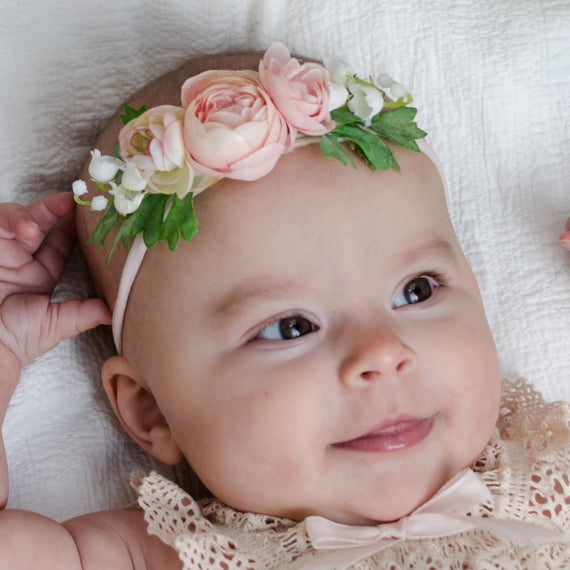 Posie Flower Headband