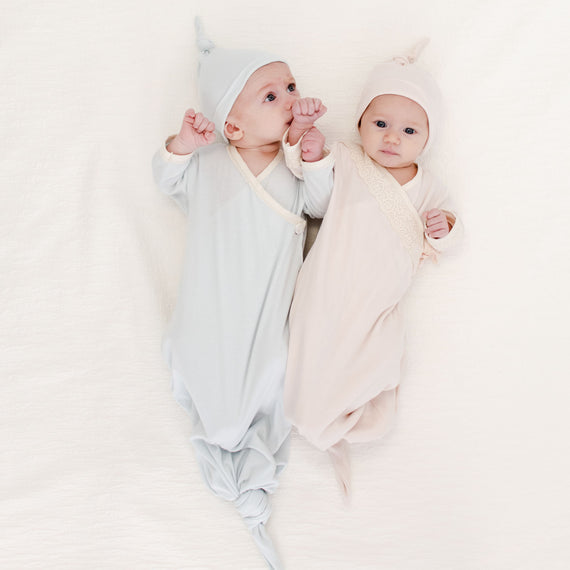 Twin Knot Gown Set - Save 10%