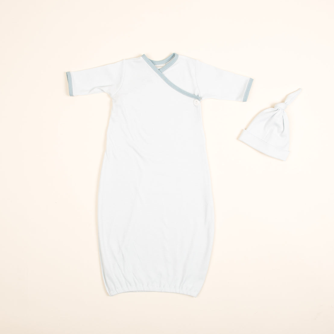 Aiden Newborn Layette and Knot Cap