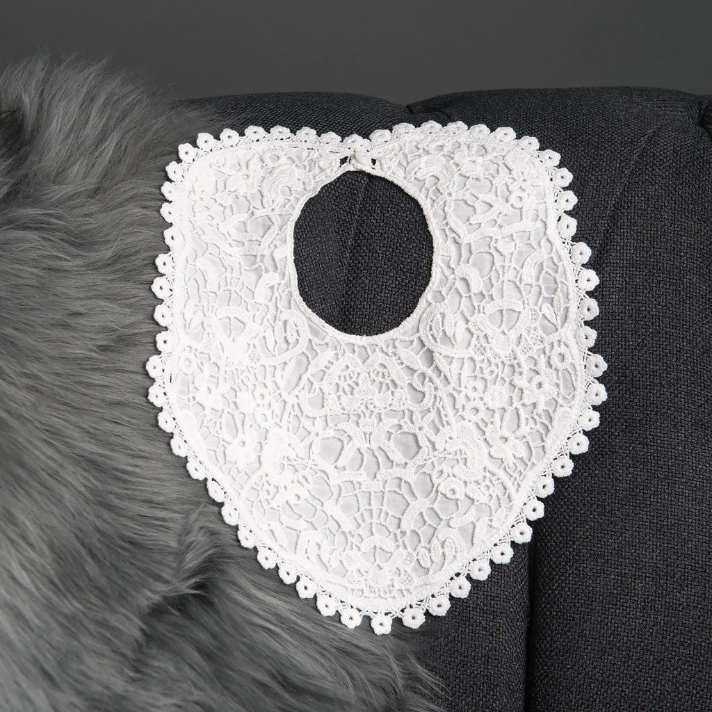 Grace Girls Lace Bib Detail