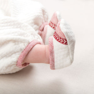 Sweetheart Quilted Booties
