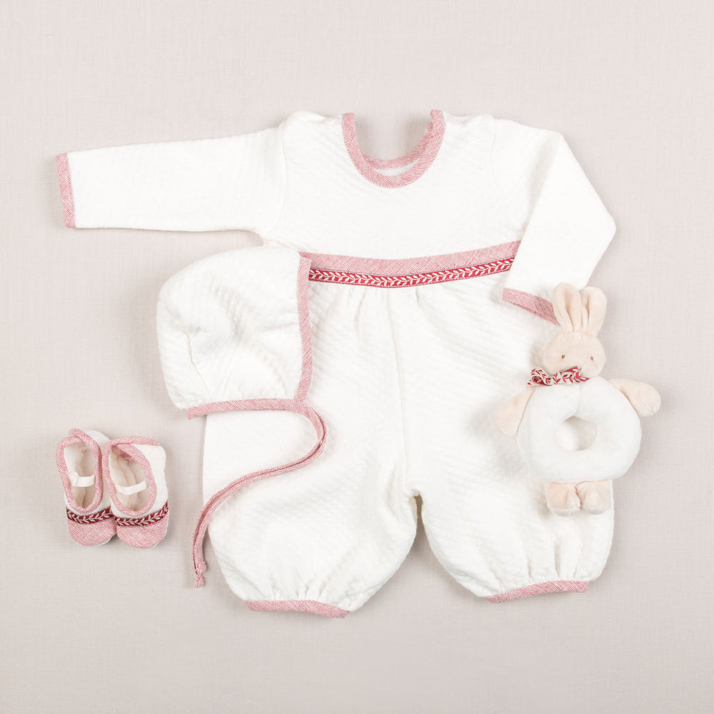 Sweetheart Newborn Jumpsuit Set - Save 10%