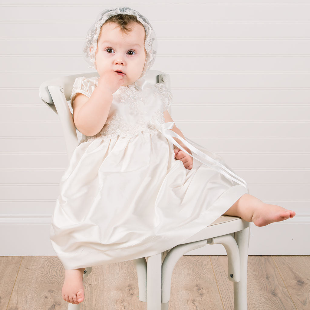 Penelope Silk Dress & Bloomers