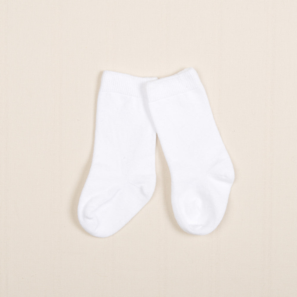 Boys White Knee Socks