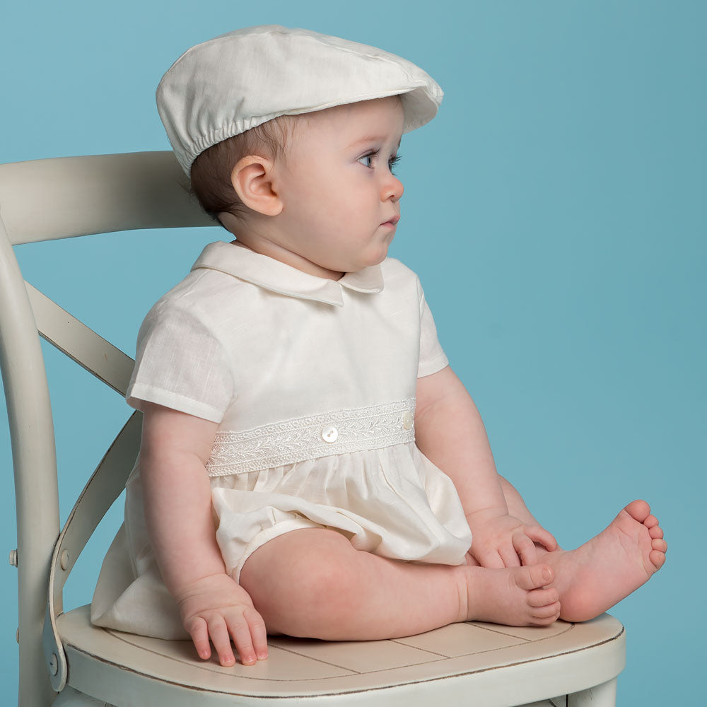 Oliver Bubble Romper With Cap