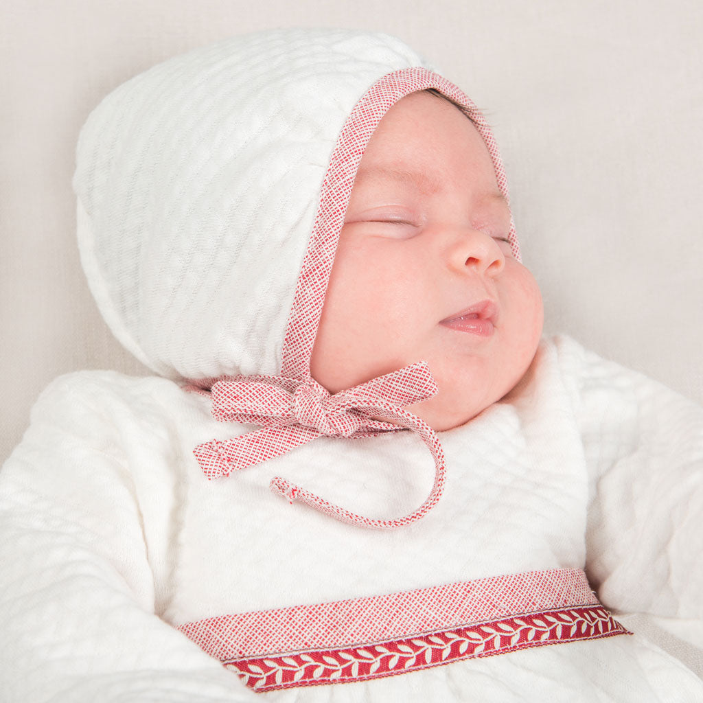 Sweetheart Quilted Bonnet