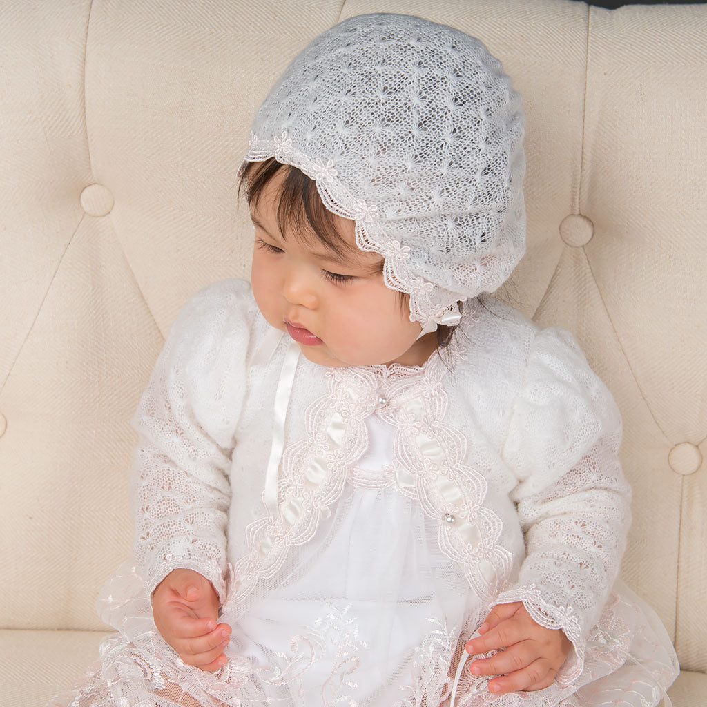 Joli Knit Christening Sweater