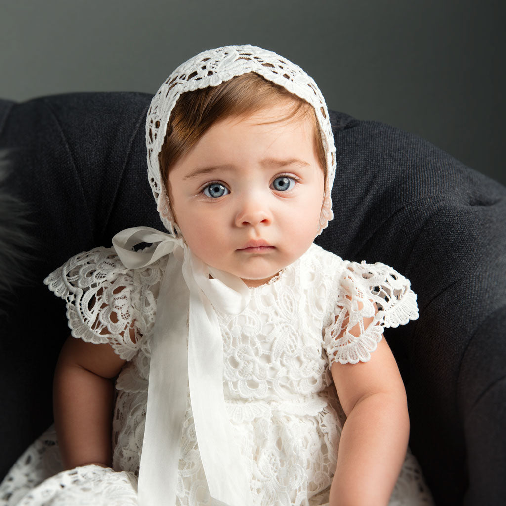 Lola Girls Christening Gown Bodice