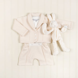Miles Natural Terry 3-Piece Short Suit