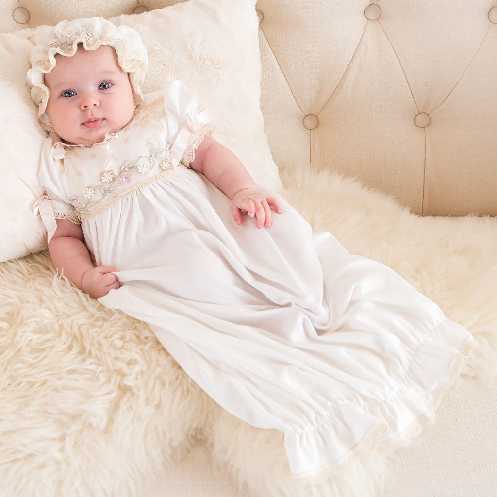 Jessica Girls Newborn Gown Alternate