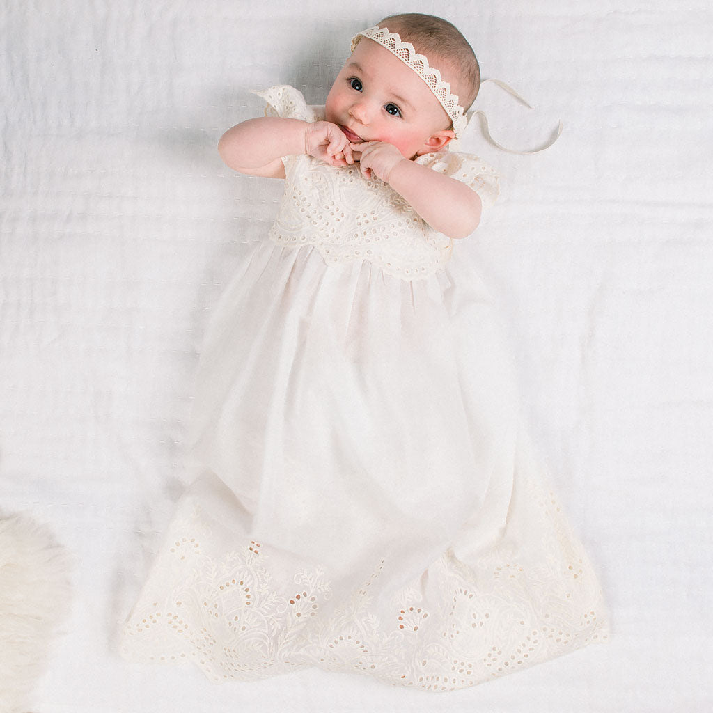 Ingrid Lace Baby Headband
