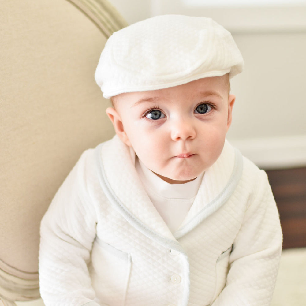 Harrison Newsboy Cap | Quilted Cotton