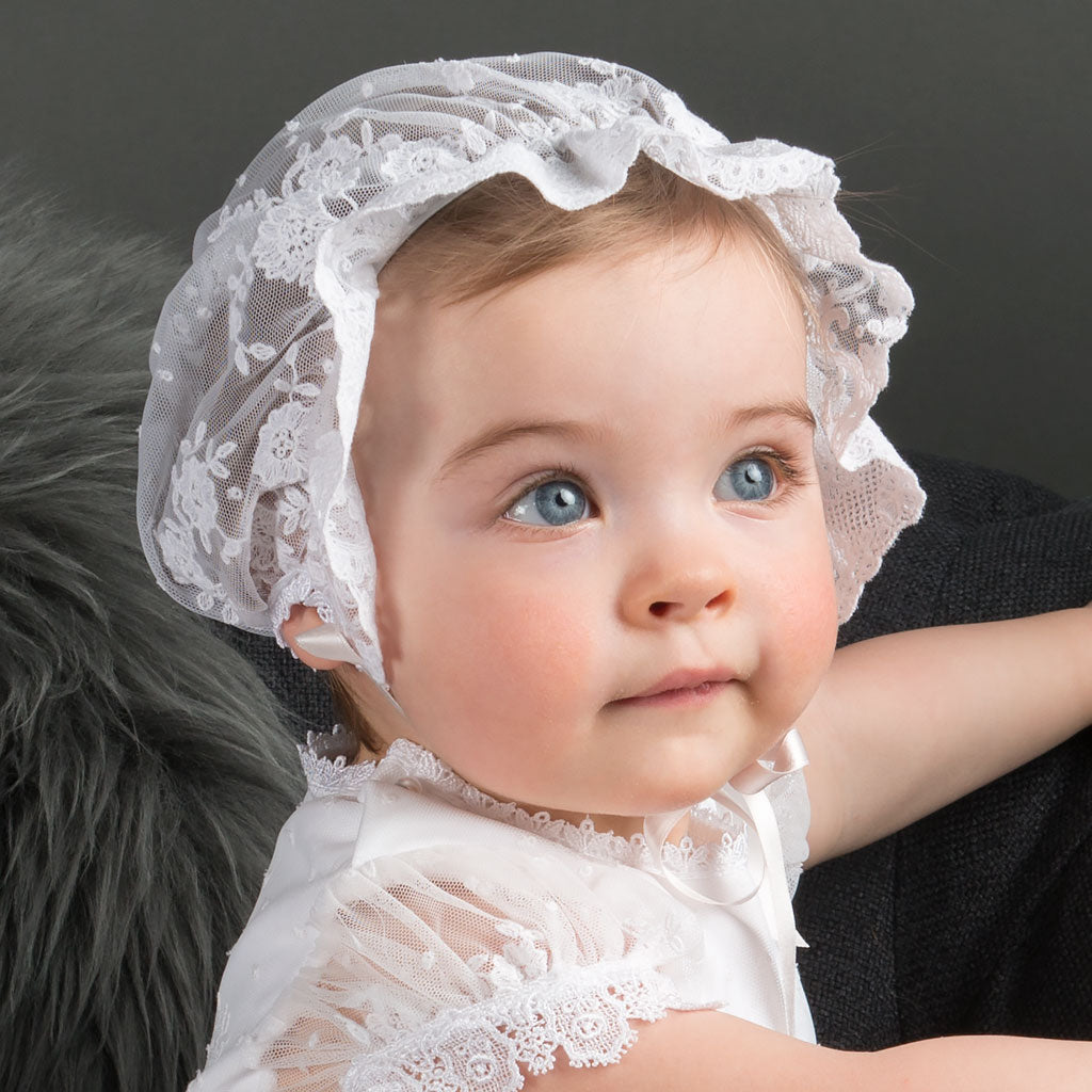 Baby Girl Bonnet - Melissa Collection