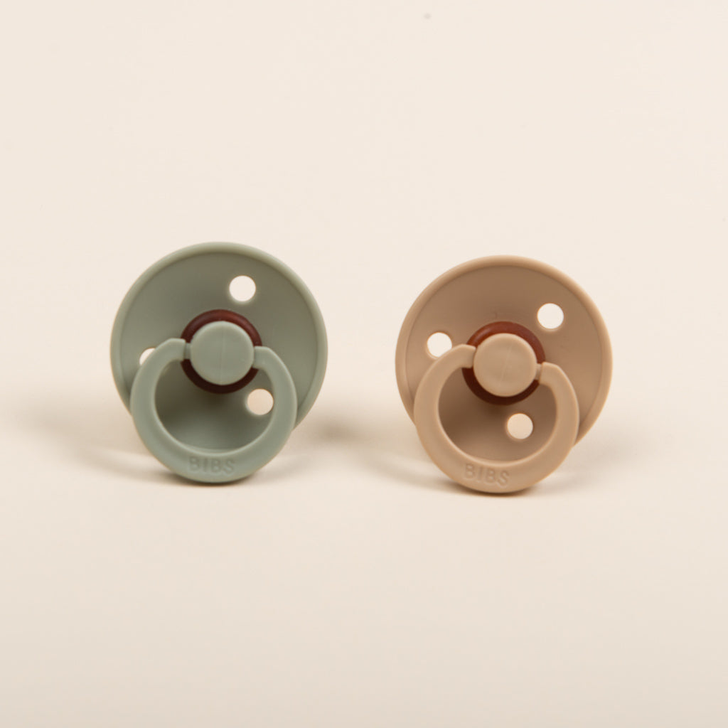 Bibs Pacifier | Sage or Vanilla