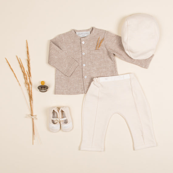 Sand Linen Outfit