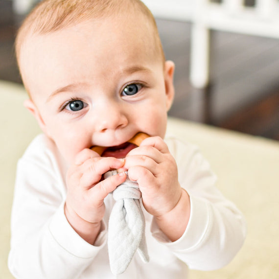 Grayson Wooden Teether Ring
