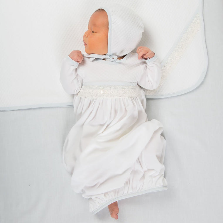 Harrison Newborn Gown -