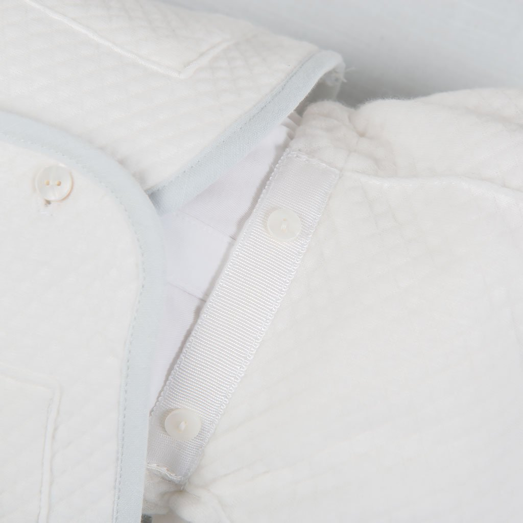 Harrison Quilted Newborn Suit -