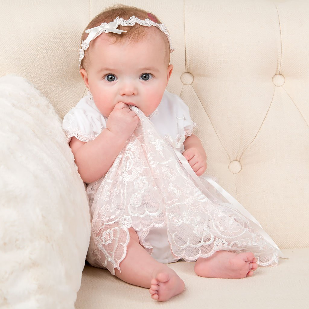 Girls Christening Dress - Joli Romper Dress