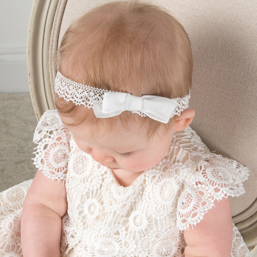 Poppy Lace Headband