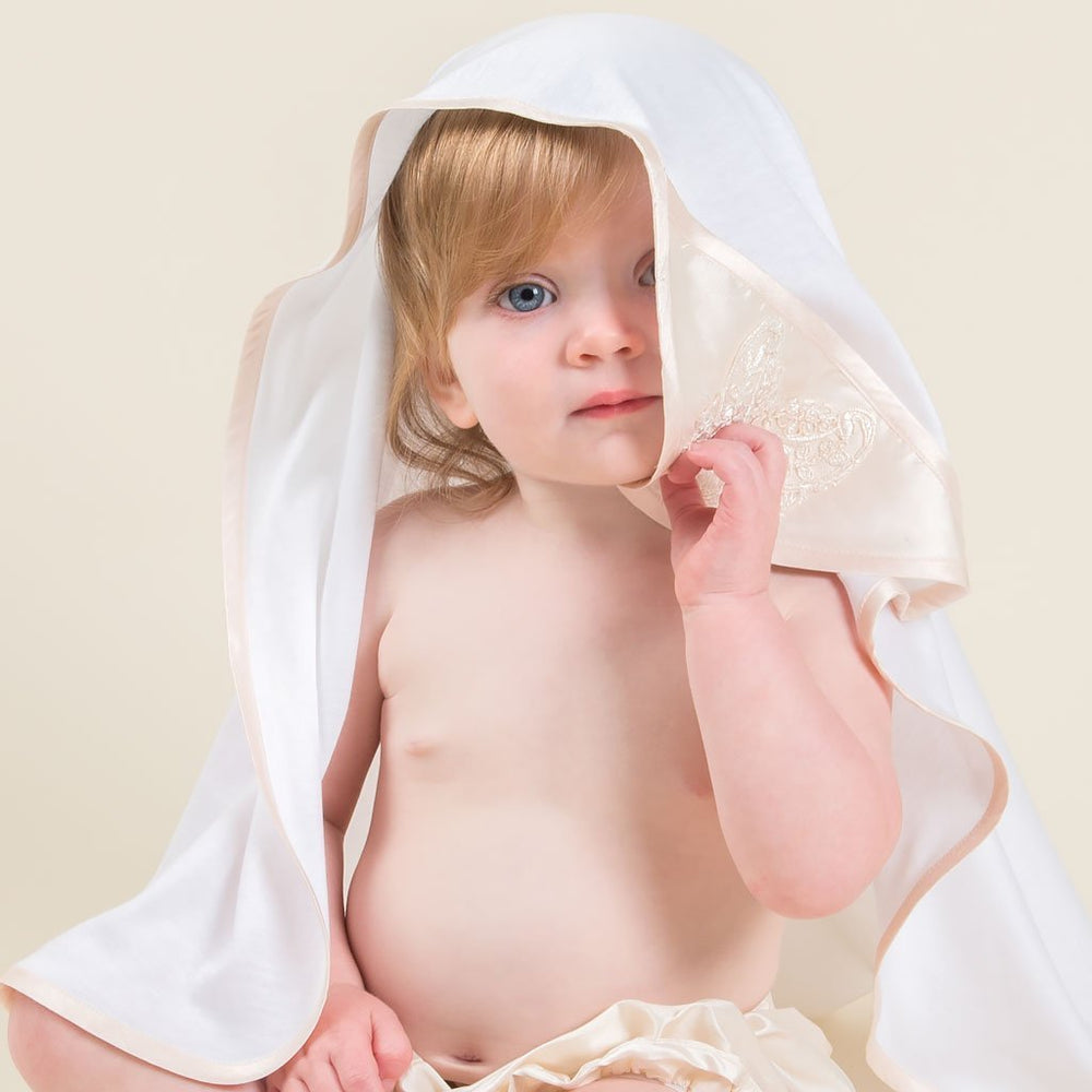 Tessa Christening Blanket - Girls Blanket