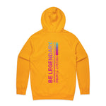 Be Legendary / Gold Hoodie
